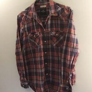Ladies, American Eagle flannel shirt. Sz. Small